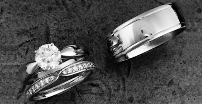men and womens wedding rings