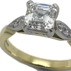 vintage-style-engagement-ring